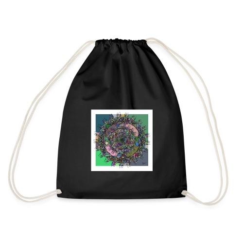 WorldAround 150220 ds. A + - Drawstring Bag