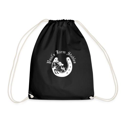 Unisex Paul's Farm Stables Contrast Colour Hoodie - Drawstring Bag