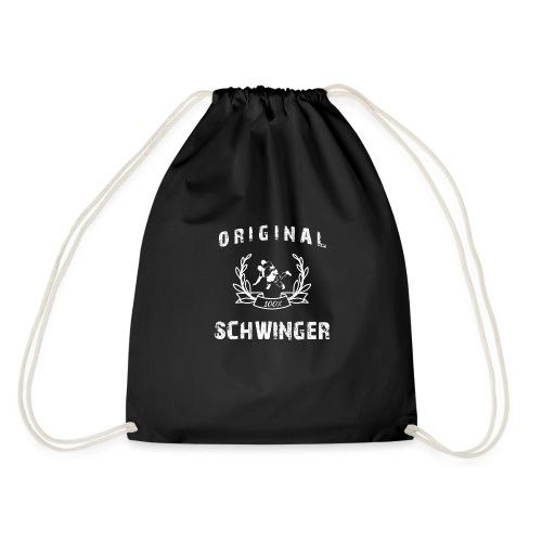 Original 100% Schwinger! - Turnbeutel