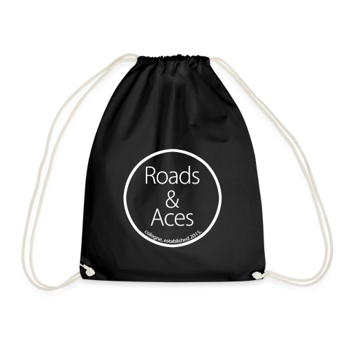 Roads_and_Aces_rund - Turnbeutel