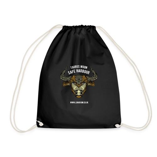 Taurus Moon Dark - Drawstring Bag