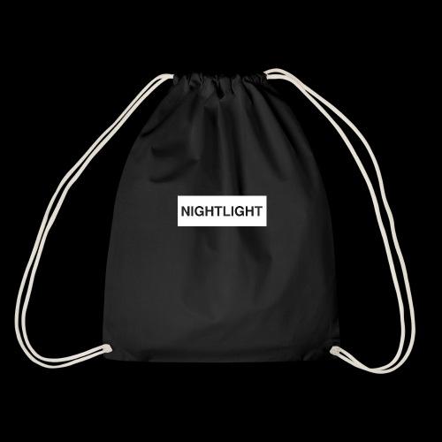 NIGHTLIGHT BOX LOGO (DAY) - Drawstring Bag