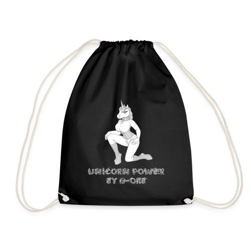 Unicorn3 Two sided - Drawstring Bag