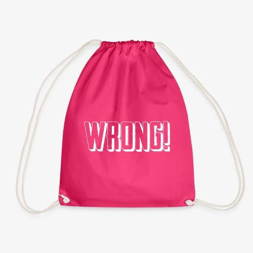 Wrong Men - Drawstring Bag