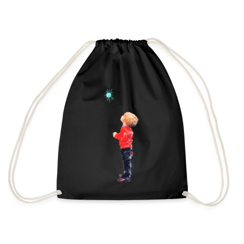 The Boy and the Blue - Drawstring Bag
