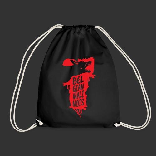 Belgian Malinois HEAD - Drawstring Bag