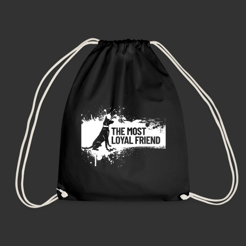 The most loyal friend - Drawstring Bag