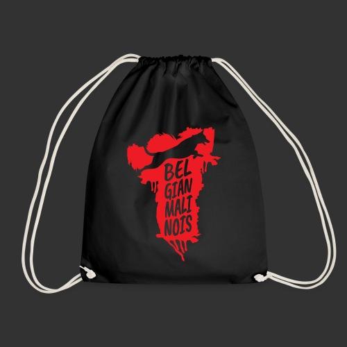 Belgian Malinois JUMP - Drawstring Bag