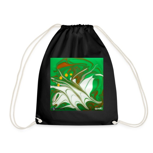 TIAN GREEN Mosaik CG002 - quaKI - Turnbeutel