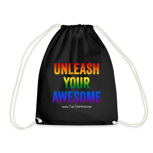 Rainbow Awesome - Pride range - Drawstring Bag