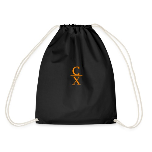 CHARLES CHARLES SHORTENED LOGO - Drawstring Bag