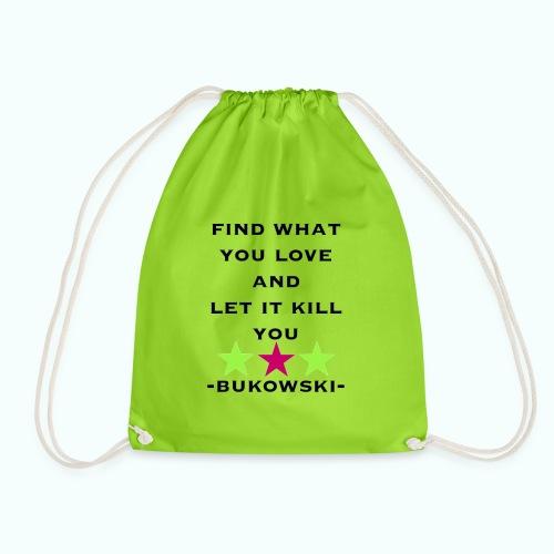 bukowski - Drawstring Bag