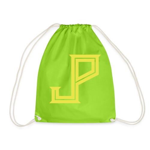 JP - Judy Punch logo - Drawstring Bag