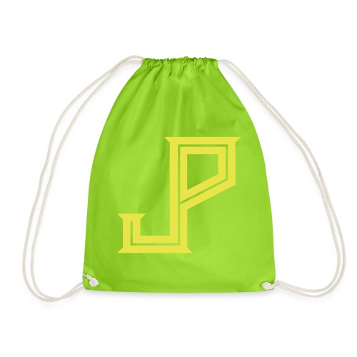 JP - Judy Punch logo - Drawstring Bag