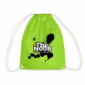 TheNOOB Official Logo Paint Splat! - Drawstring Bag