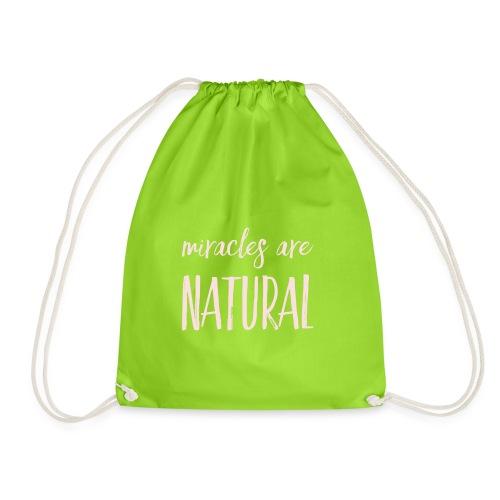 Daniela Elia Design - Miracles are natural - Turnbeutel