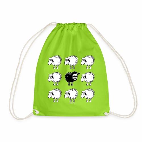 10-45 BLACK SHEEP - musta lammas lahjatuotteet - Jumppakassi