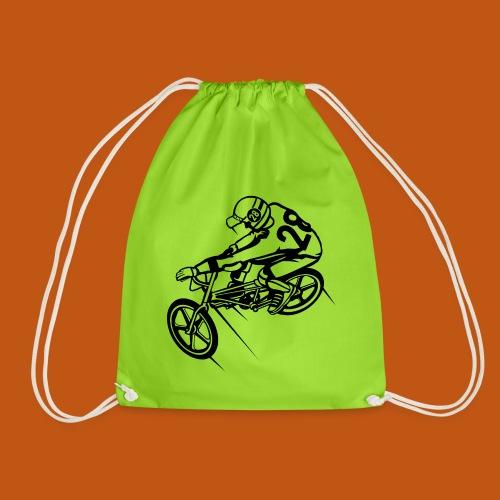 BMX Fahrrad / Bike 01_schwarz - Turnbeutel