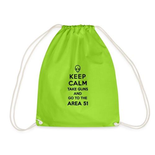 KEEP CALM AREA 51 - Sac de sport léger