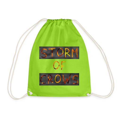 Storm of Crows Logo - Drawstring Bag