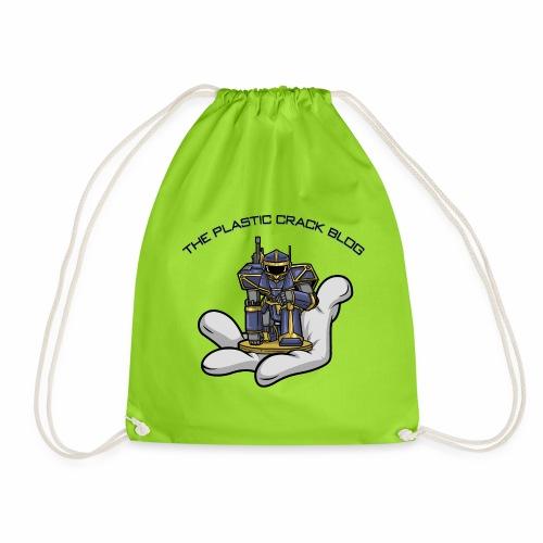 Plastic Crack Blog - Drawstring Bag