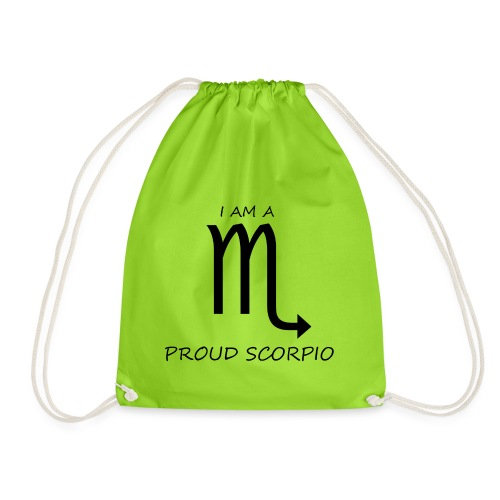 SCORPIO - Drawstring Bag