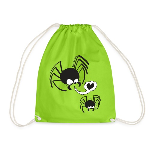 Dangerous Spider Love - Drawstring Bag