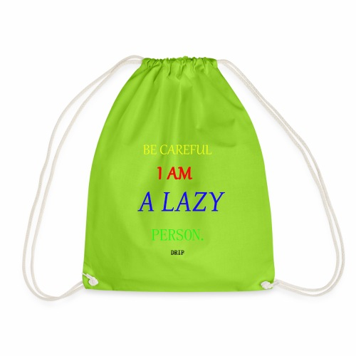 DRIP BECAREFUL EDITION - Drawstring Bag