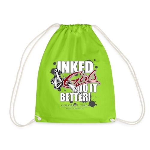 inked girls do it better - Turnbeutel