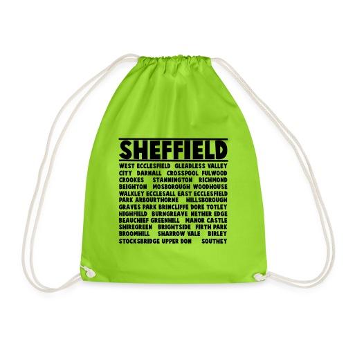Sheffield City - Drawstring Bag