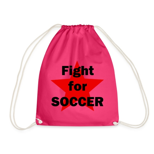 Fight for SOCCER - Turnbeutel
