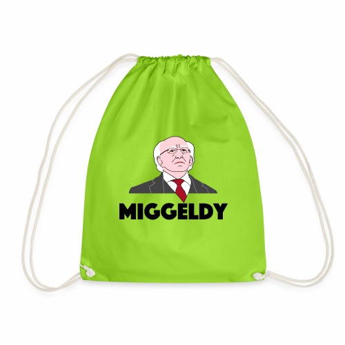 Miggeldy Higgins - Drawstring Bag