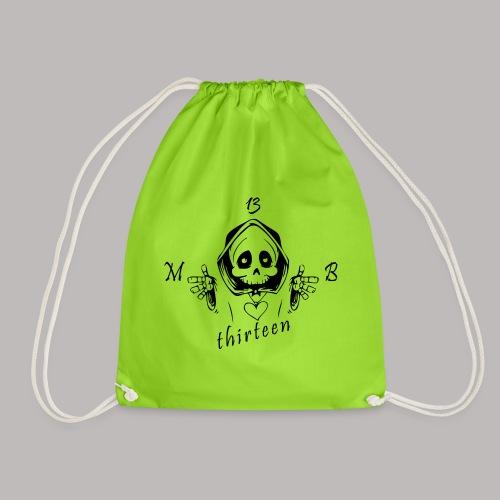 MB13 - Skull - Drawstring Bag