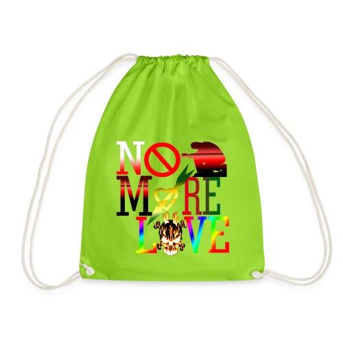 get no more love - Drawstring Bag