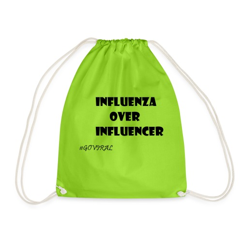 Influenza over Influencer - Turnbeutel