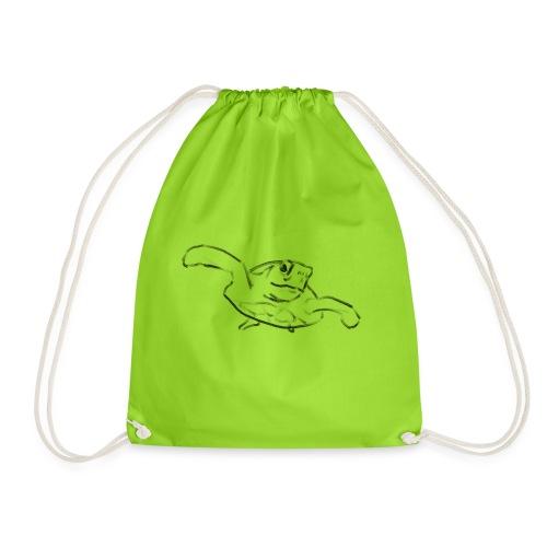 Turtle - Drawstring Bag