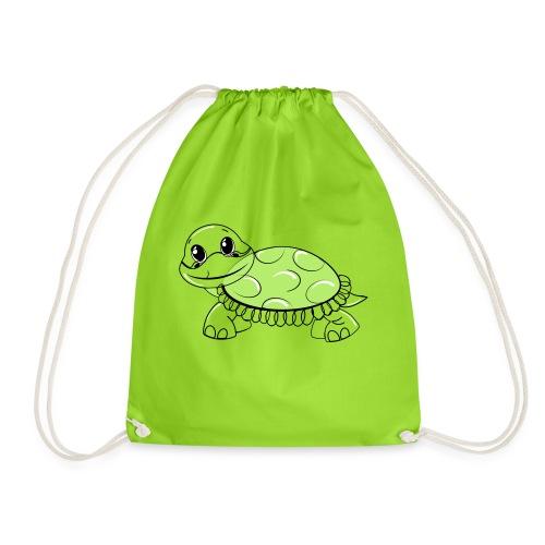 Schildkröte - Turnbeutel