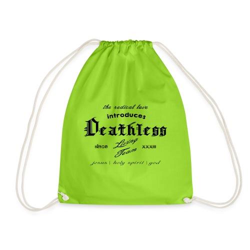 deathless living team schwarz - Turnbeutel