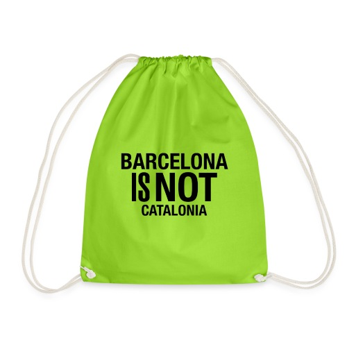 BARCELONA IS NOT SPAIN - Mochila saco