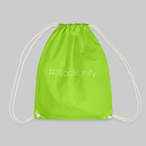 #BlackUnity Schriftzug - Turnbeutel