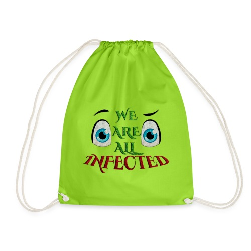 We are all infected -by- t-shirt chic et choc - Sac de sport léger