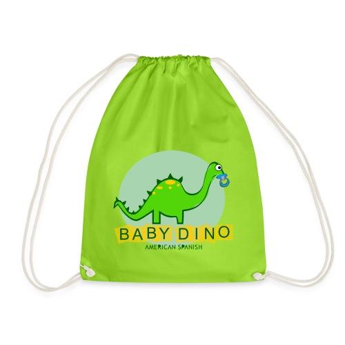 American Spanish Baby Dino - Mochila saco