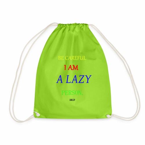 DRIP BECAREFUL EDITION - Drawstring Bag