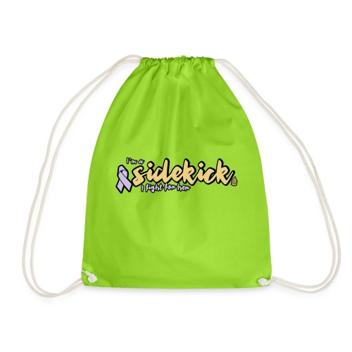 I'm a sidekick - Drawstring Bag