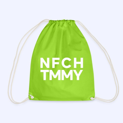 Einfach Tommy / NFCHTMMY / White Font - Turnbeutel