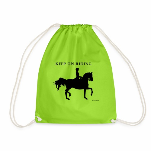 KEEP ON RIDING - Mochila saco
