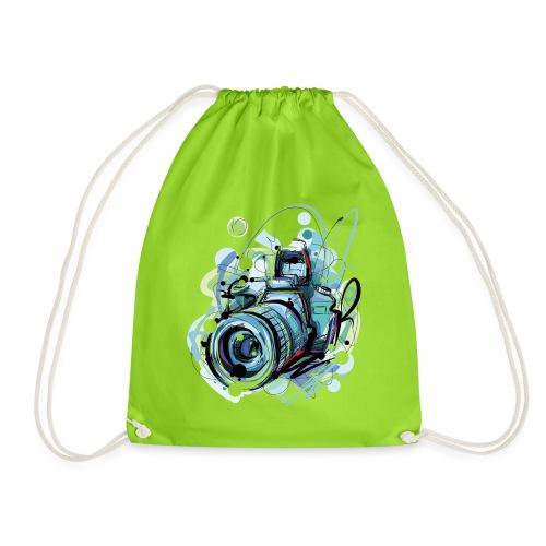 Camera - Drawstring Bag