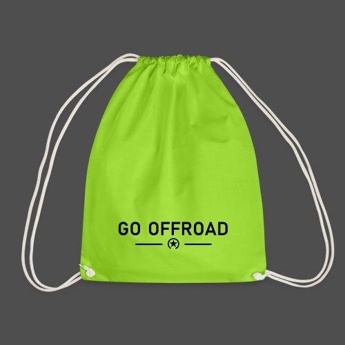 go off-road - Drawstring Bag