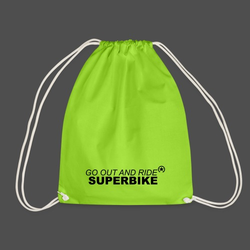 go out and ride superbike bk - Worek gimnastyczny
