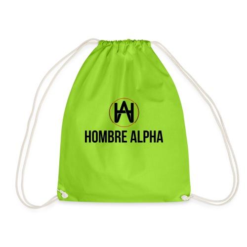 Hombre Alpha Logo - Mochila saco
